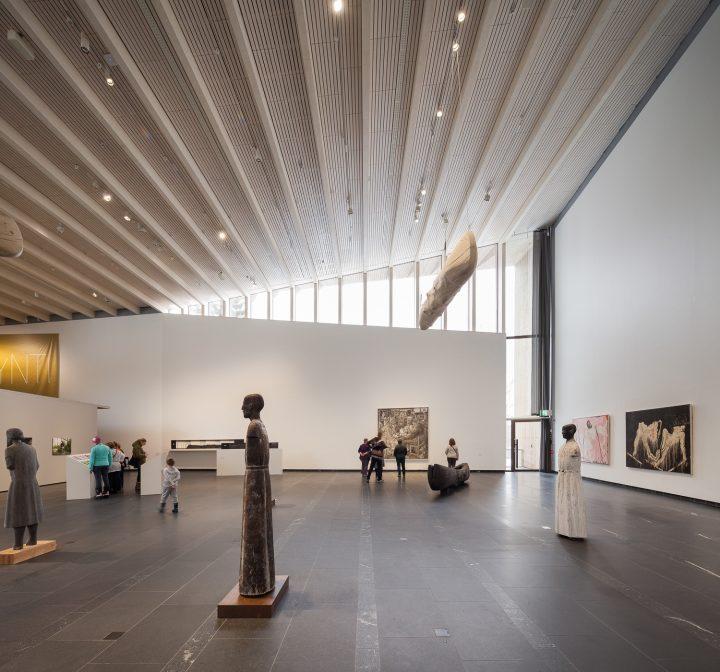 Exhibition space., Gösta's Pavilion, Serlachius Museum