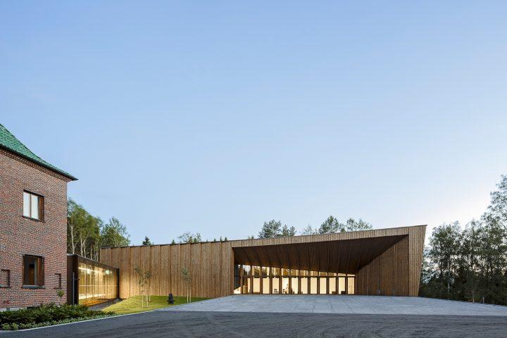Entrance side., Gösta's Pavilion, Serlachius Museum