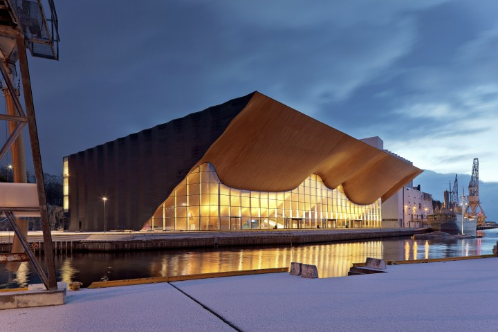 Kilden Performing Arts Centre in Kristiansand, Norway designed by ALA architects., Kilden Performing Arts Centre