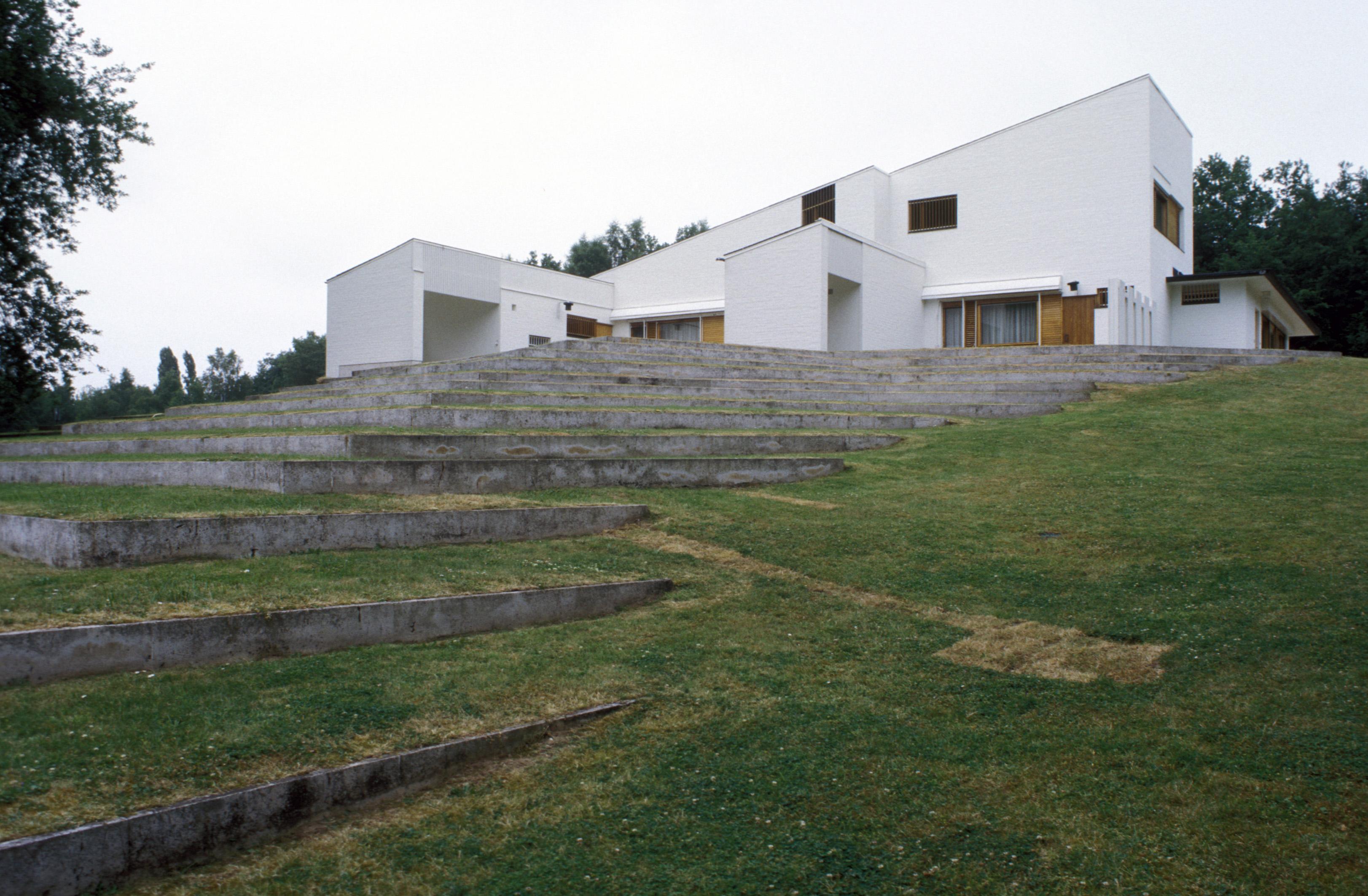 Maison louis carr finnish architecture navigator for Carre maison