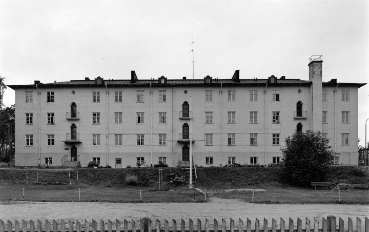 Aira Apartment Building for Railway Workers