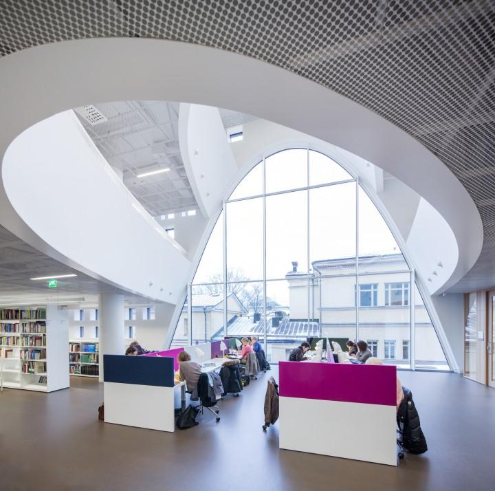 Study area., Helsinki University Main Library Kaisa