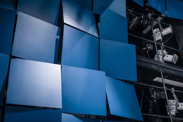 Acoustic panelling, Lappeenranta City Theatre