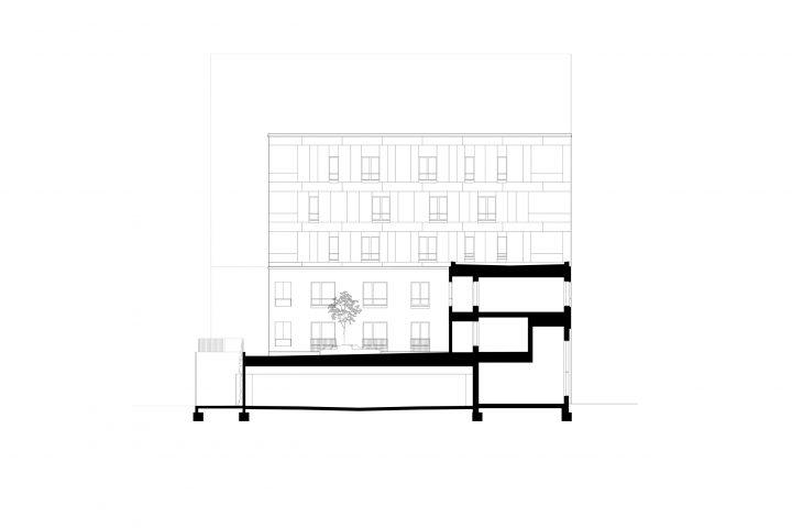 Section, Aleksis Kiven katu 19 Housing