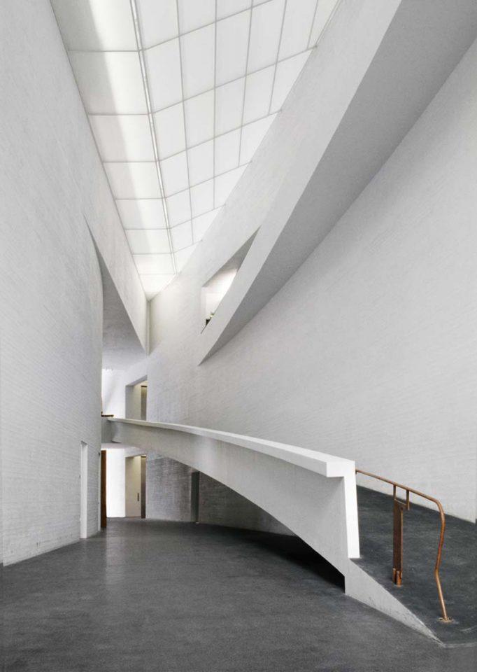 Entrance lobby, Museum of Contemporary Art Kiasma