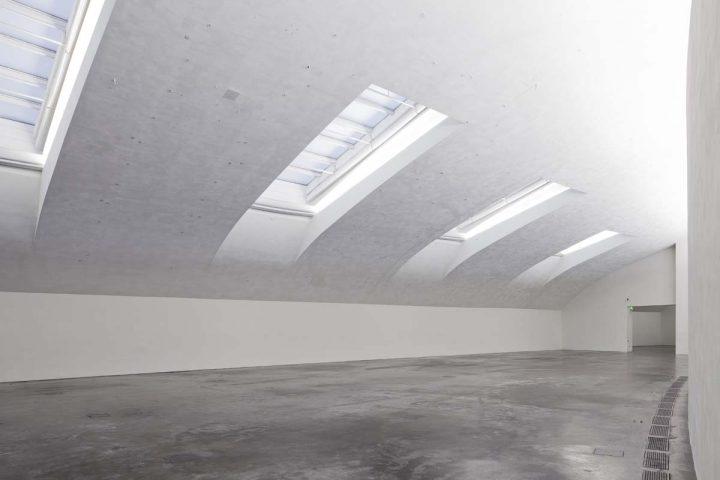 Top floor exhibition space, Museum of Contemporary Art Kiasma