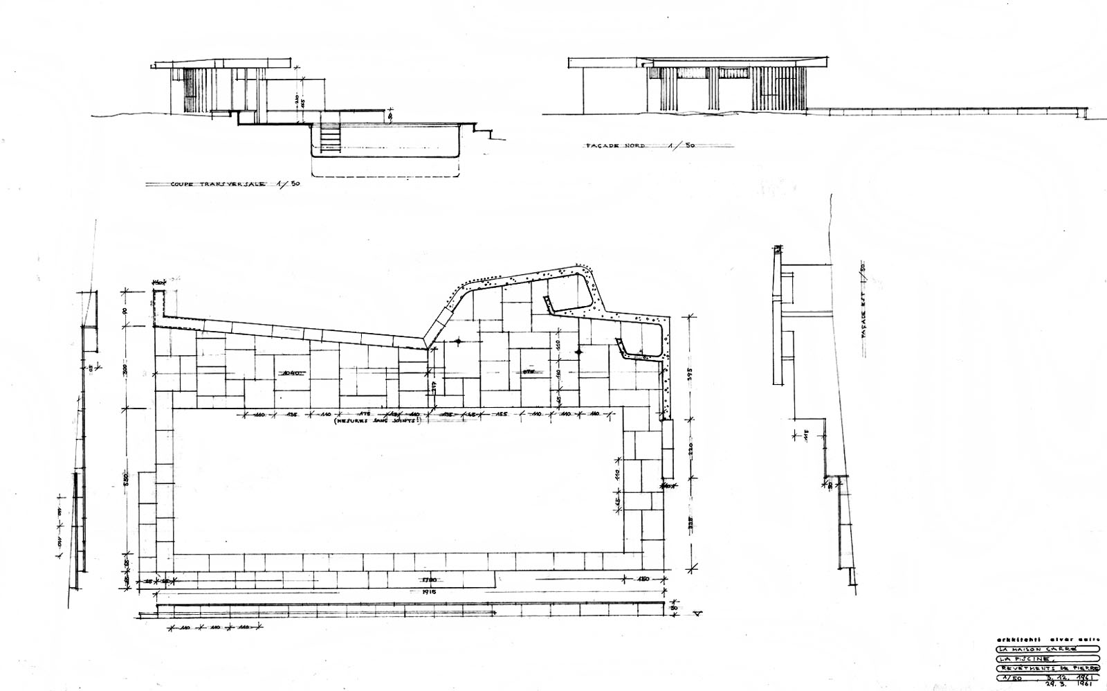 Maison louis carr finnish architecture navigator for Alvar aalto swimming pool jyvaskyla
