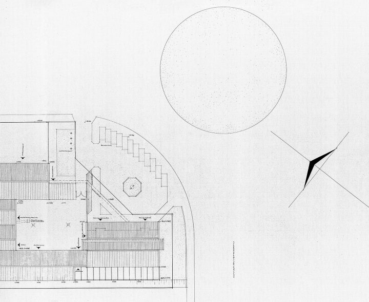 The site plan, Police Station & Fire Department