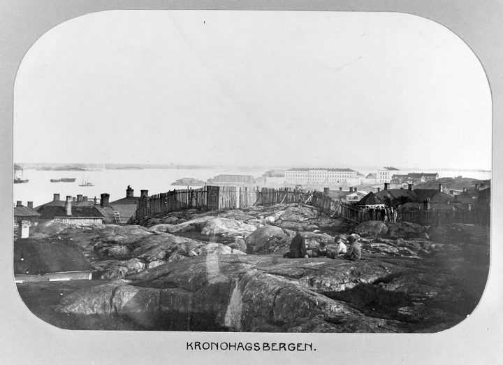1860s-70s, Merikasarmi Naval Barracks