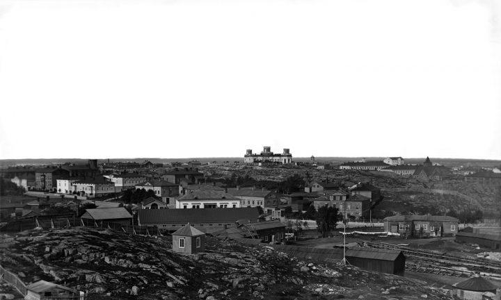 1872 panorama, Helsinki Observatory