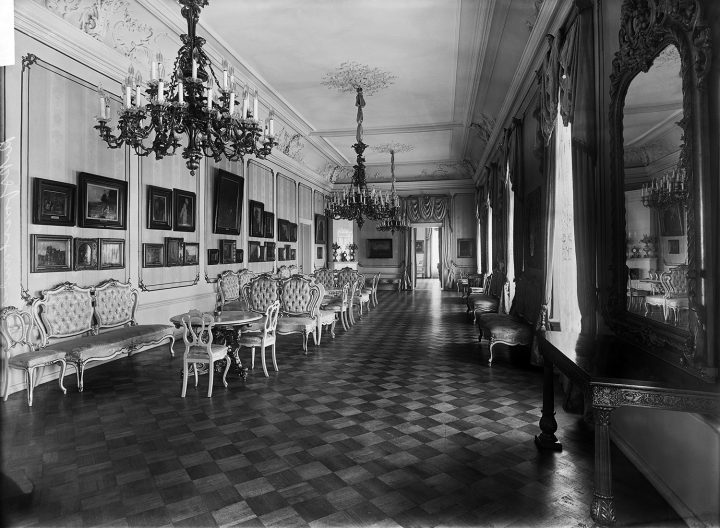 State Regent Carl Gustaf Mannerheim's residence in 1919, Government Banquet Hall Smolna