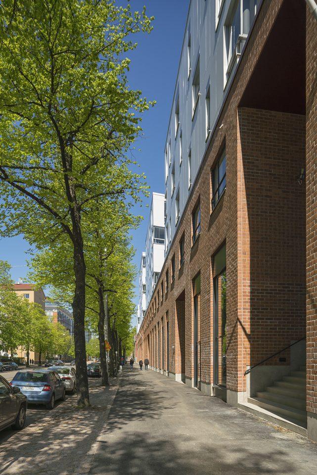 Street view, Aleksis Kiven katu 19 Housing