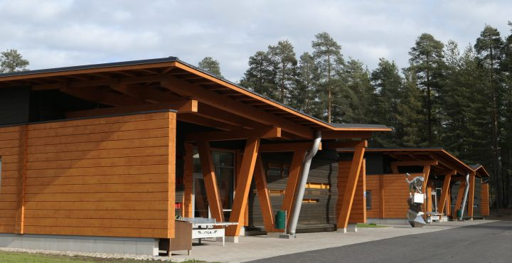 The Southern façade , Kauppis-Heikki School