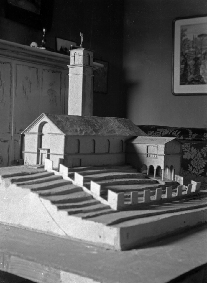 Scale model, Muurame Church