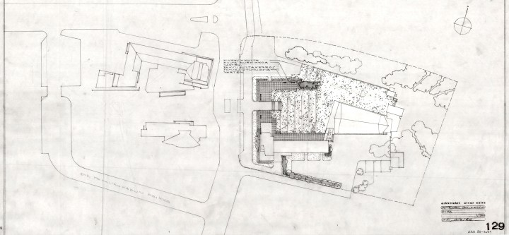 "Yard plan, Cross of the Plains Church ""Lakeuden risti"""