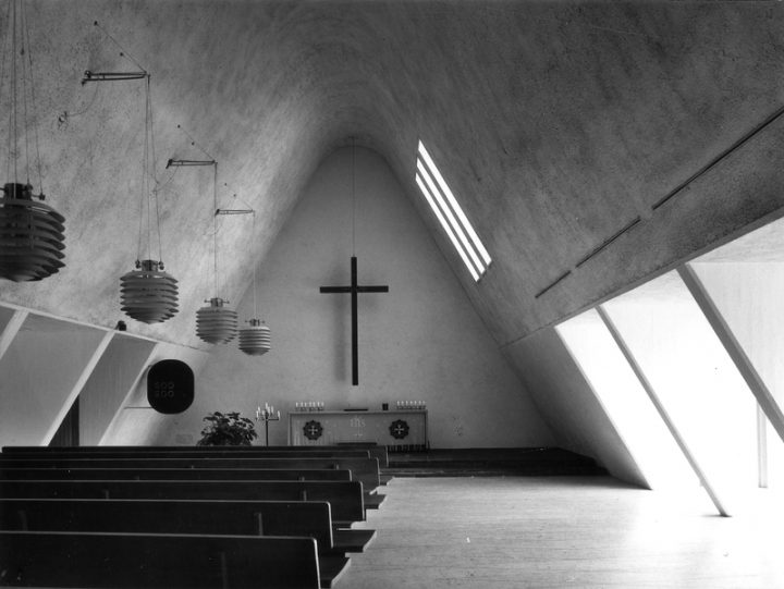 Altar wall., Metsola Funerary Chapel