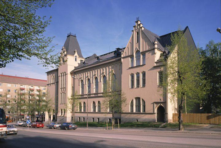 Northern elevation, Tampere Girls' School