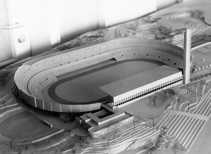 Scale model, 1948., Olympic Stadium