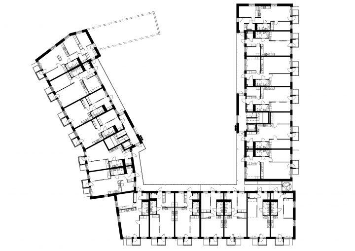 Typical floor (2nd floor), The Greenest Block of Flats