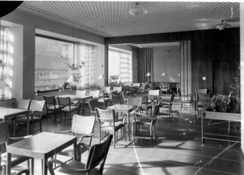 J. R. Lehtinen café on the first floor, Sampo House