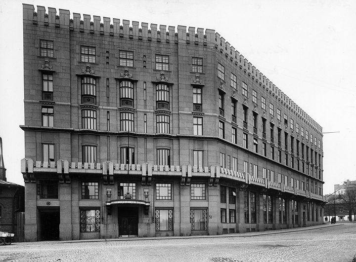 Kaivokatu street façade, Kaleva Insurance Company
