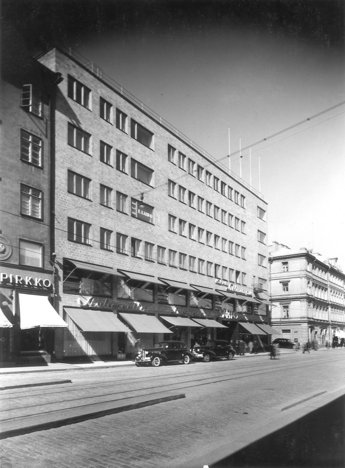 Yliopistonkatu street side, Sampo House