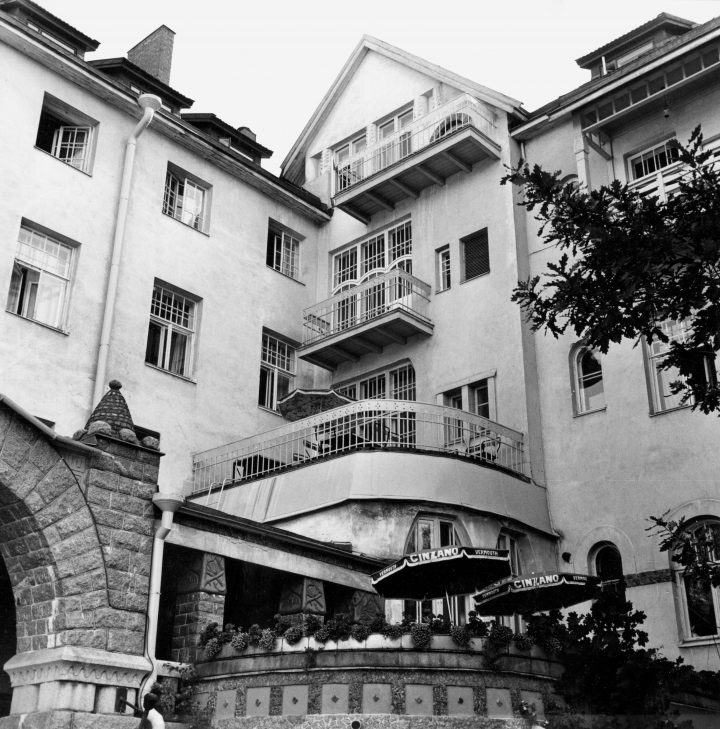 Façade, The State Hotel