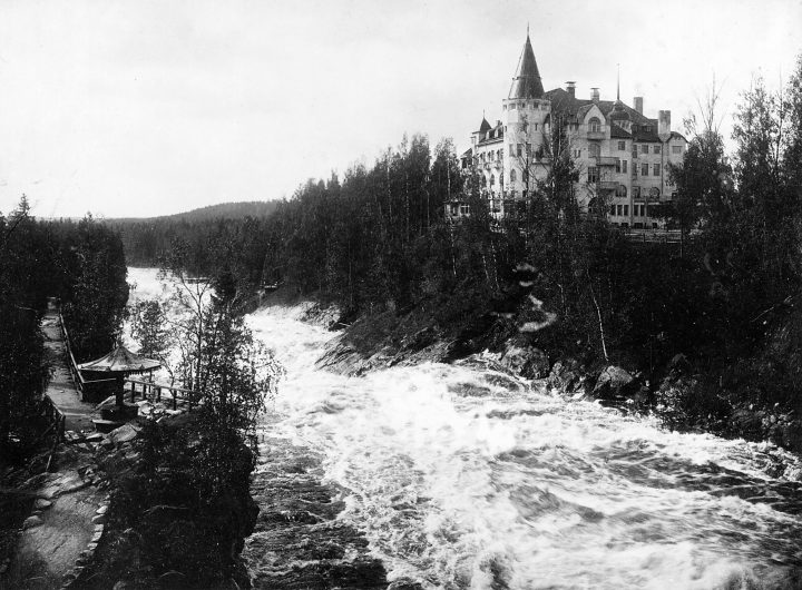 Imatra rapids and the hotel, The State Hotel