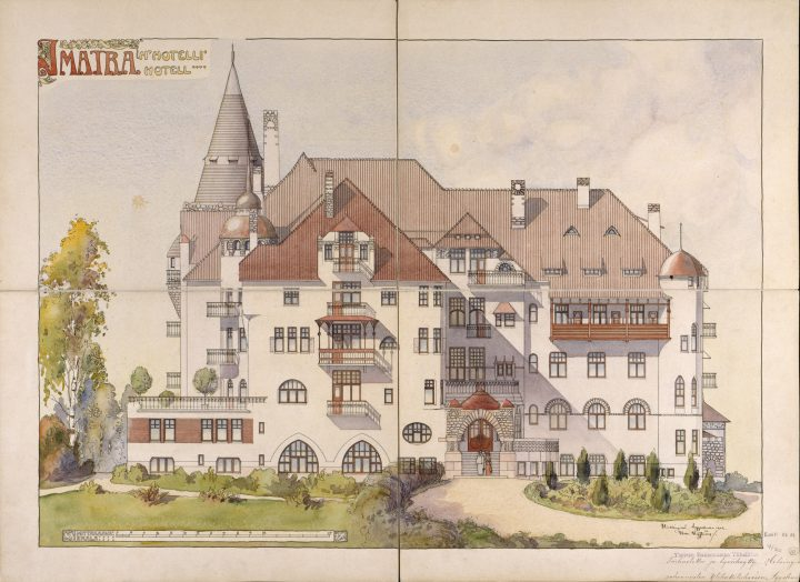 Original drawing, The State Hotel