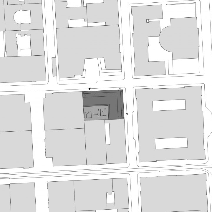 Site plan, Think Corner