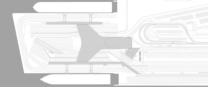 Site plan, West Terminal II