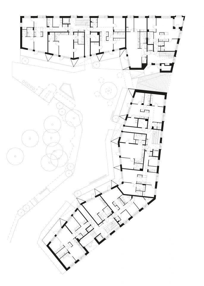 Ground floor, Heka Koirasaarentie 36 Affordable Housing