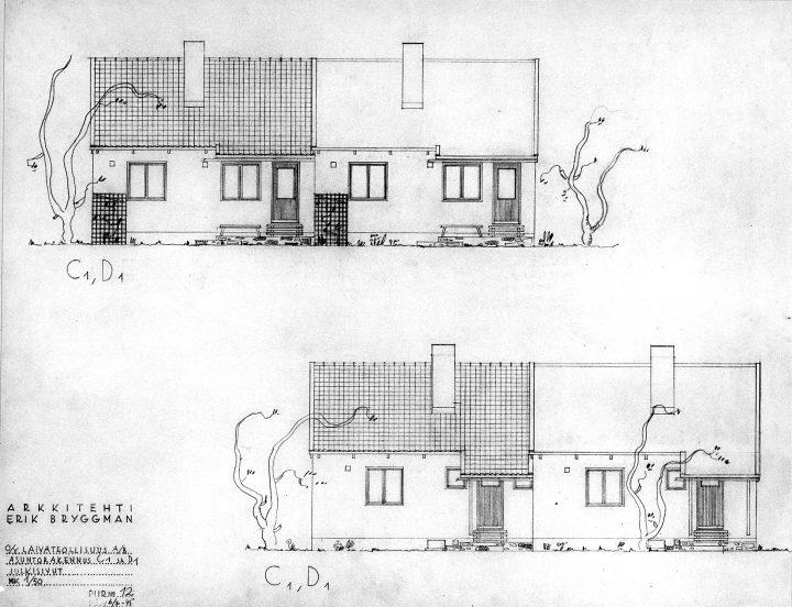 Type house designs, Laivateollisuus Residential Area