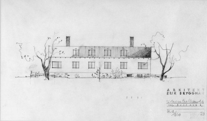 Engineer's house design, Laivateollisuus Residential Area