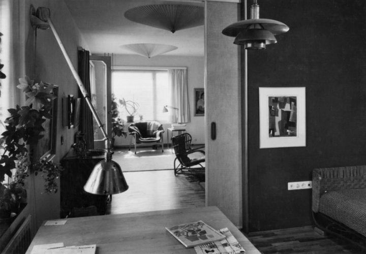 Bryggman's own apartment, Läntinen Rantakatu 21 apartment building