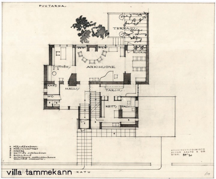 Ground floor, Villa Tammekann