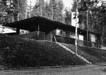 Original sauna building., Vierumäki Sports Institute