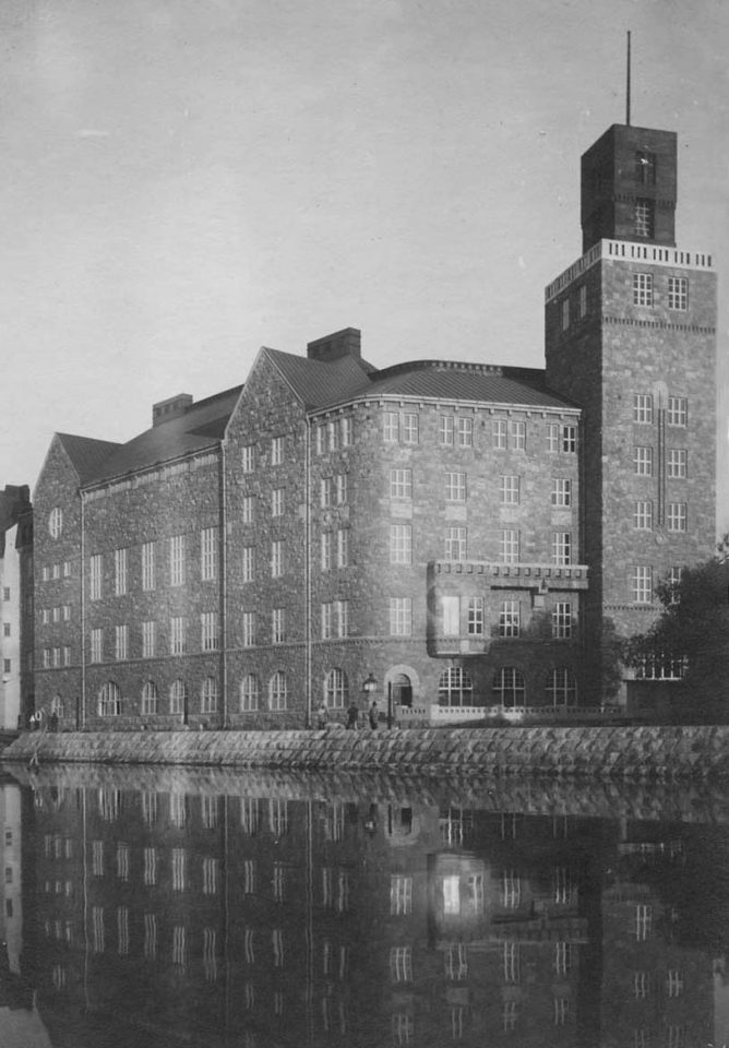 Photo from 1908, Paasitorni, Helsinki Workers' House