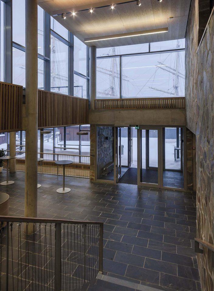 Entrance hall, Åland Maritime Museum
