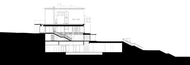 Section plan, Åland Maritime Museum