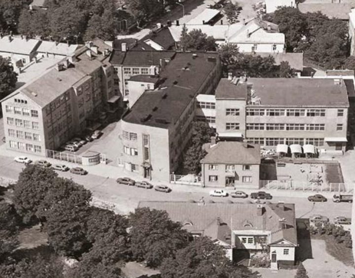 Aerial view from the east, Åbo Akademi University ASA Building