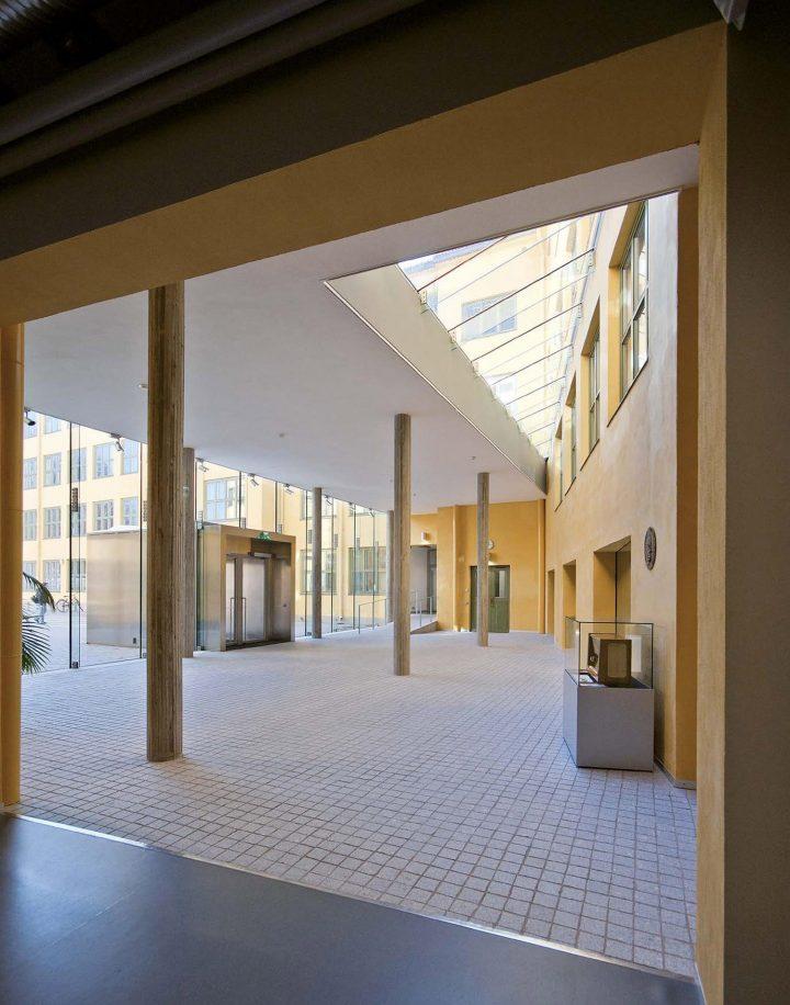 Main entrance hall, Åbo Akademi University ASA Building