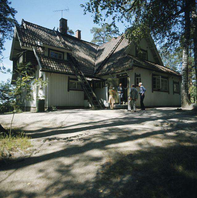 Main entrance, Aino and Jean Sibelius' Ainola