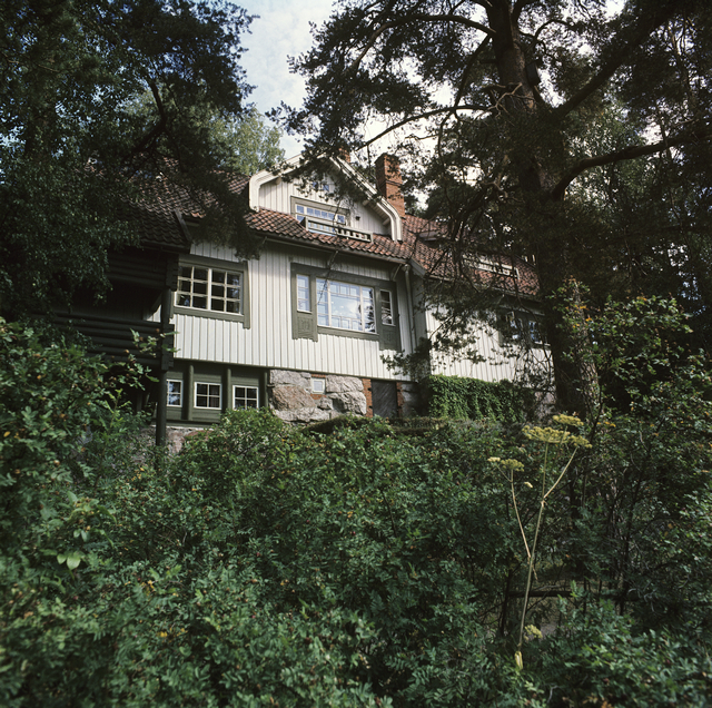 View from the garden, Aino and Jean Sibelius' Ainola