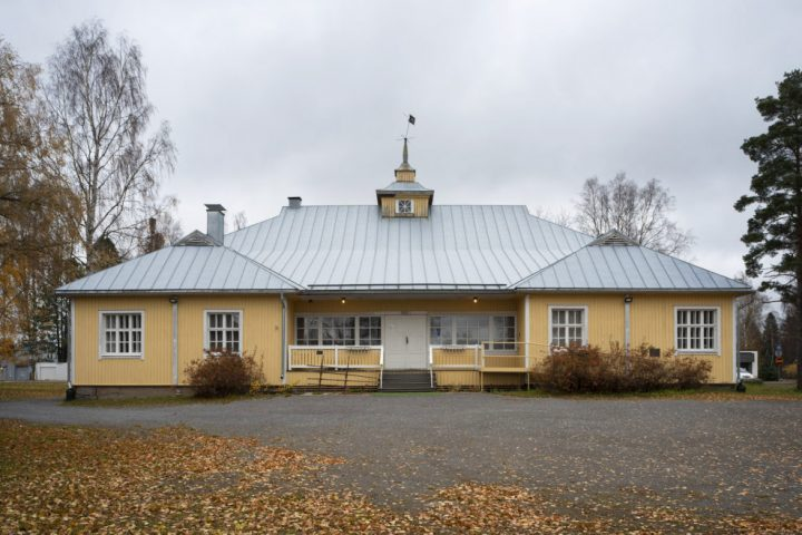 Main façade, Alajärvi Youth Association Building