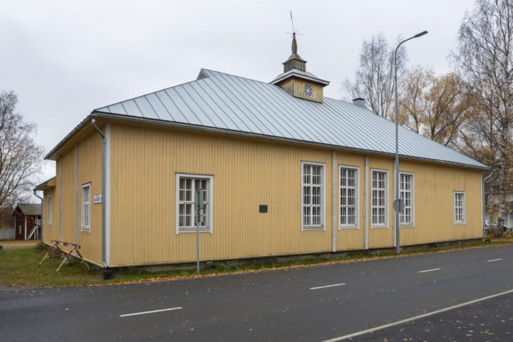 Street façade, Alajärvi Youth Association Building