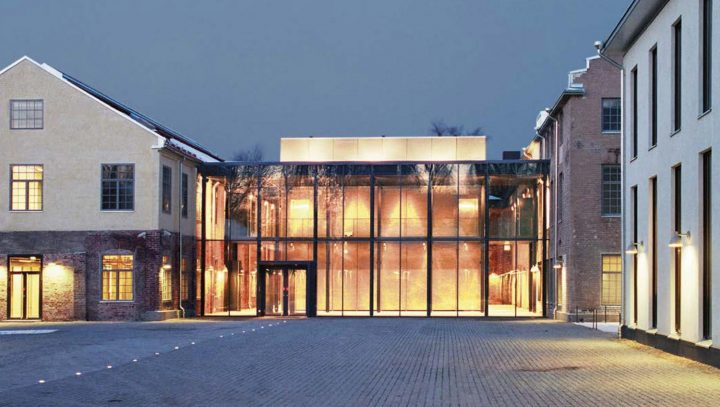 Main entrance, Åbo Akademi University Arken Campus