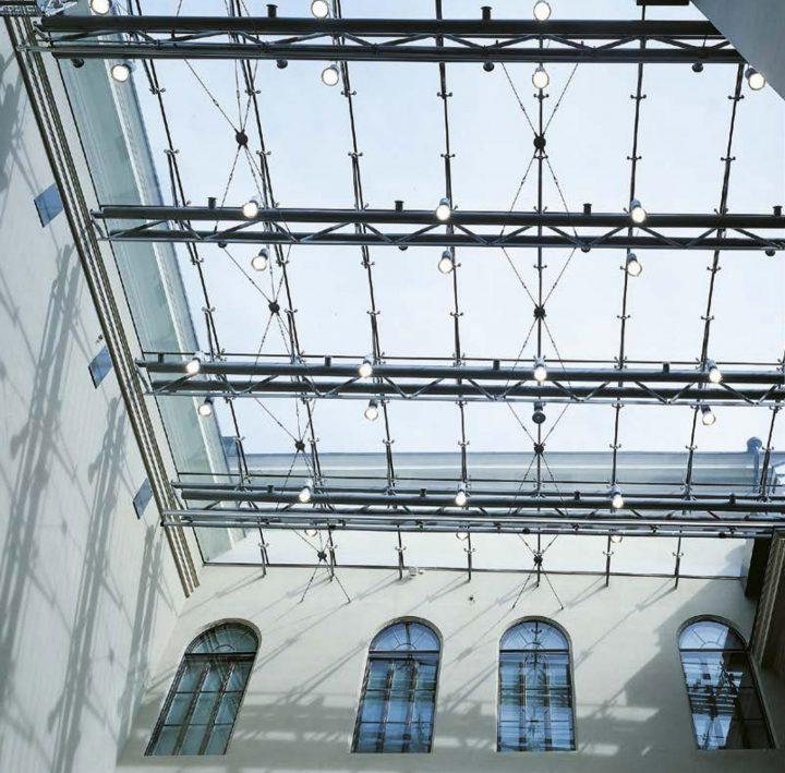 Glass roof, Ateneum Art Museum Extension