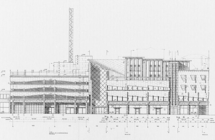 The Eastern façade, BePOP