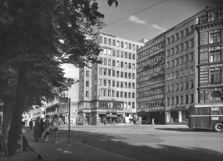 Street façade, Bensow House